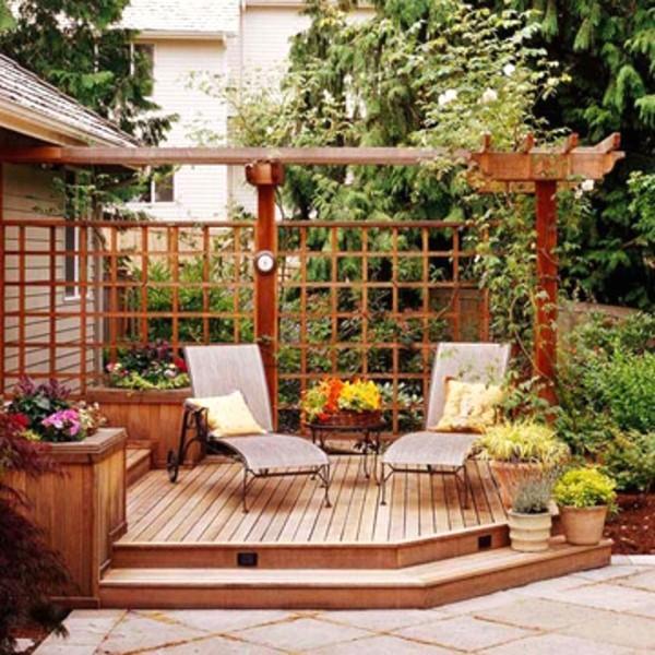 Ideen terrasse