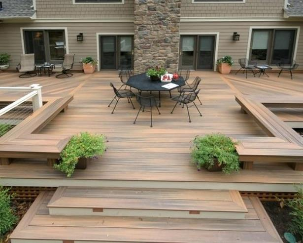 Terrassen Ideen Holz