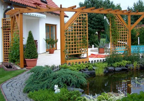 Terrassengestaltung Mit Sichtschutz