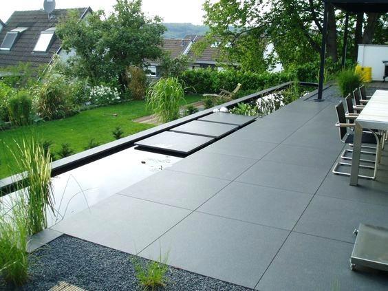 Terrassengestaltung Mit Wasser