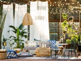 Ideas for decorating outdoor patio