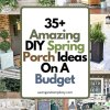 Front porch ideas on a budget